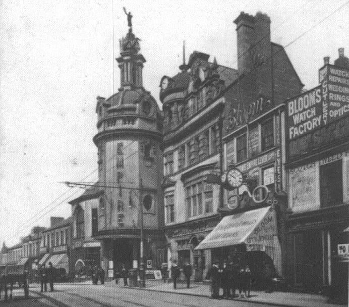 Sunderland Empire Theatre with original Terpsichore on the top of the dome