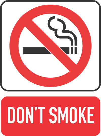 NHS smoking policy - Sunderland health services - don't smoke