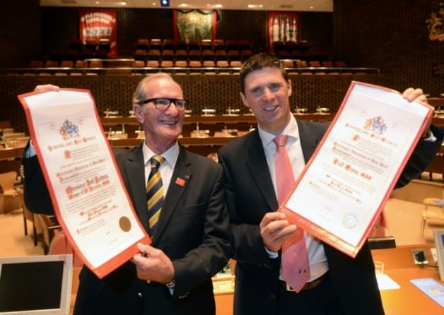 Niall Quinn Becomes Freeman Of Sunderland - Wearside Online