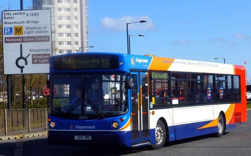 Stagecoach Bus Company Threaten To Pull Out Of Sunderland - number Hastings Hill to Red House