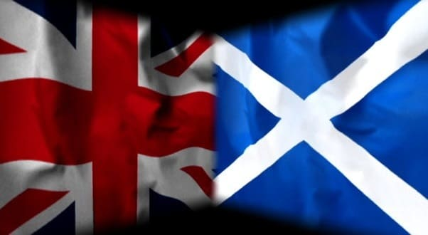 Scotland Decides – A Mackem's View - Union Jack and Saltire together