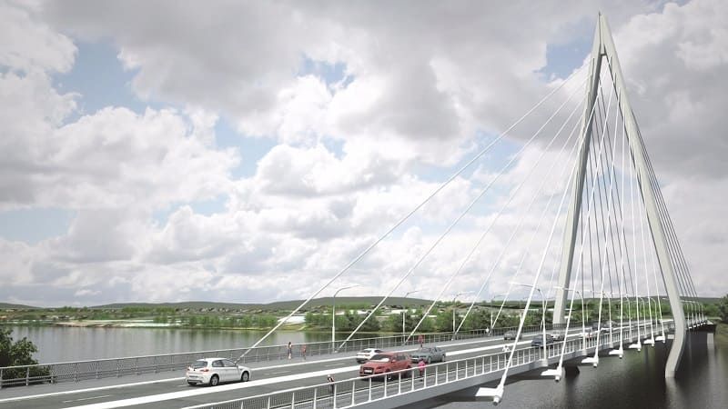 new sunderland bridge - northern spire - dual carriageway