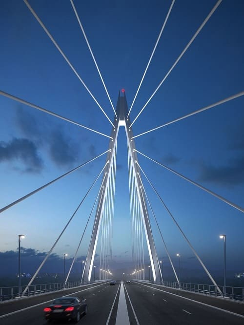 new sunderland bridge - northern spire - wear crossing 10