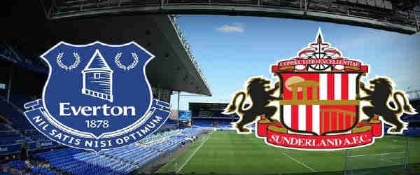 Club crests - logos and badges - Everton v Sunderland AFC - Toffeemen v Black Cats