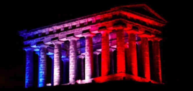 About Us - Wearside Online - Penshaw Monument lit up
