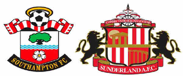 Club crests - logos and badges - Southampton v Sunderland AFC - Saints v Black Cats