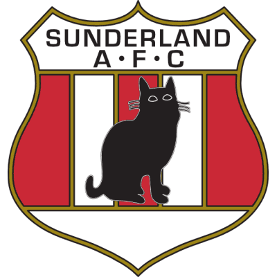 Club crests - Sunderland AFC older logo cat badge