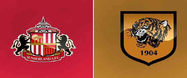 Club crests - logos and badges - Sunderland AFC v Hull City - Black Cats v The Tigers