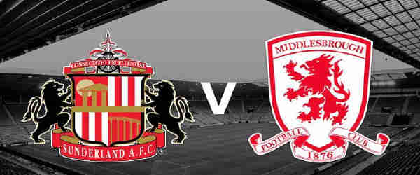 Club crests - logos and badges - Sunderland AFC v Middlesbrough - Black Cats v Smoggies