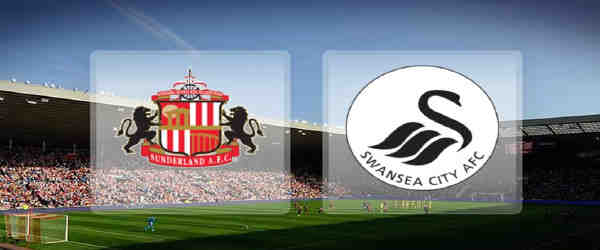 Club crests - logos and badges - Sunderland v Swansea City - Black Cats v Swans