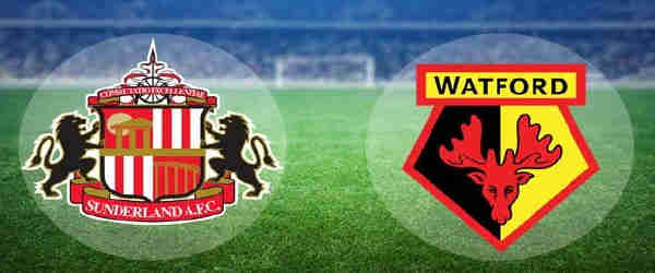 Club crests - logos and badges - Sunderland AFC v Watford - Black Cats v Hornets