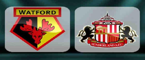 Club crests - logos and badges - Watford v Sunderland AFC - Hornets v Black Cats