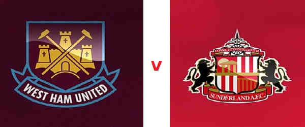 Club crests - logos and badges - West Ham v Sunderland AFC - Hammers v Black Cats