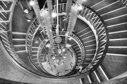 Binns Department Store Sunderland spiral staircase