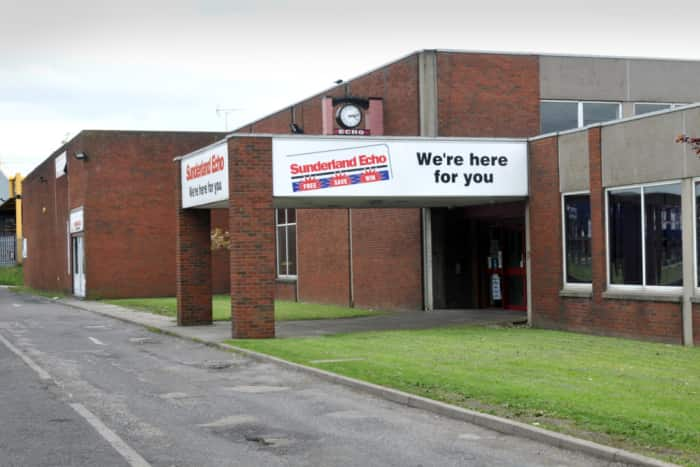 Sunderland Echo office in Pennywell Industrial Estate