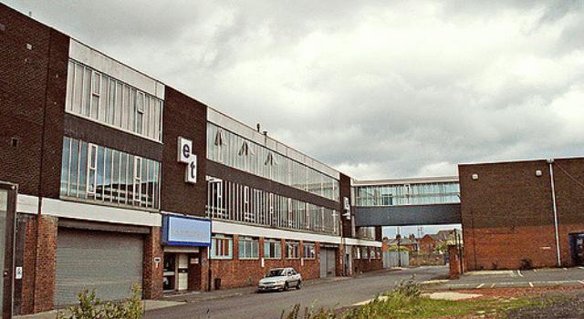 Edward Thompson Printers Wheatsheaf Sheepfolds Sunderland close to the Stadium of Light
