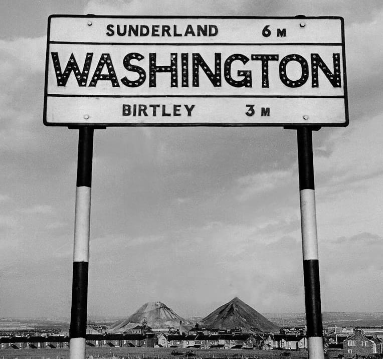 Original Washington sign post - Wearside Online