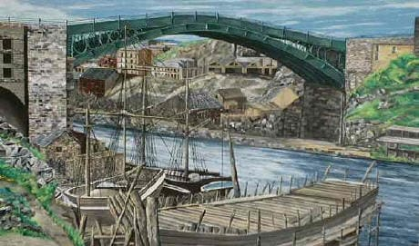 First Wearmouth Bridge - second and third also Wearside Online