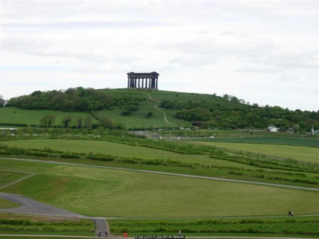 Penshaw Monument distance shot - follies in the UK