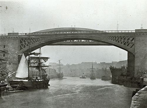 second wearmouth bridge without the hump