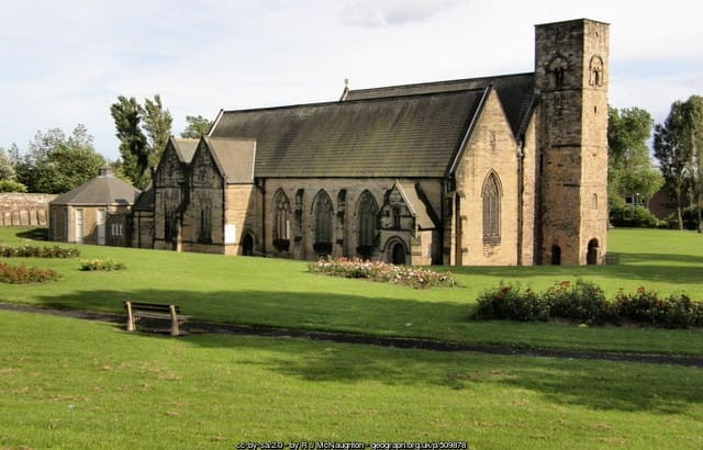 Monkwearmouth monastery - St Peter's Church Sunderland (AD674)