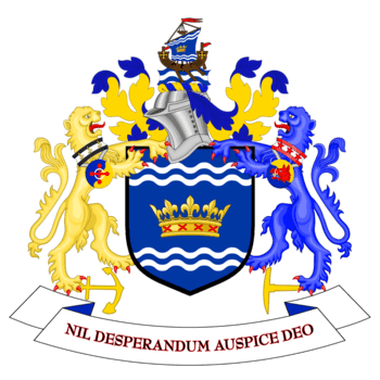 Sunderland coat of arms - Washington family crest