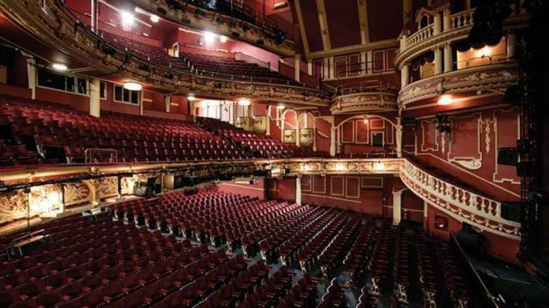 Empire Theatre Sunderland - inside splendour - tiers and seating