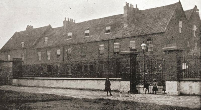 Sunderland Workhouse in Church Walk near Holy Trinity Church