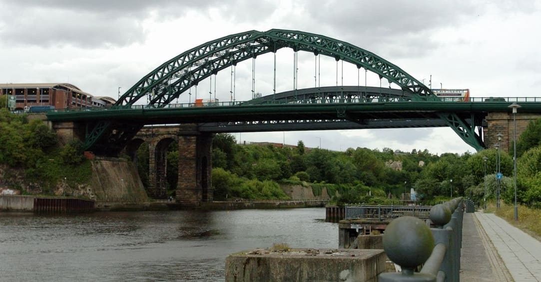 third wearmouth bridge and massive arch