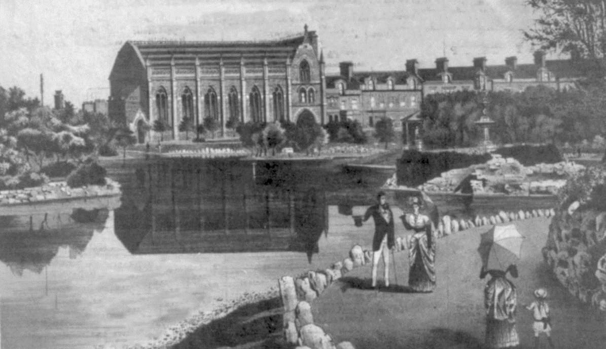 Victoria Hall Disaster - Victorian Grandeur - opposite Mowbray Park, Sunderland