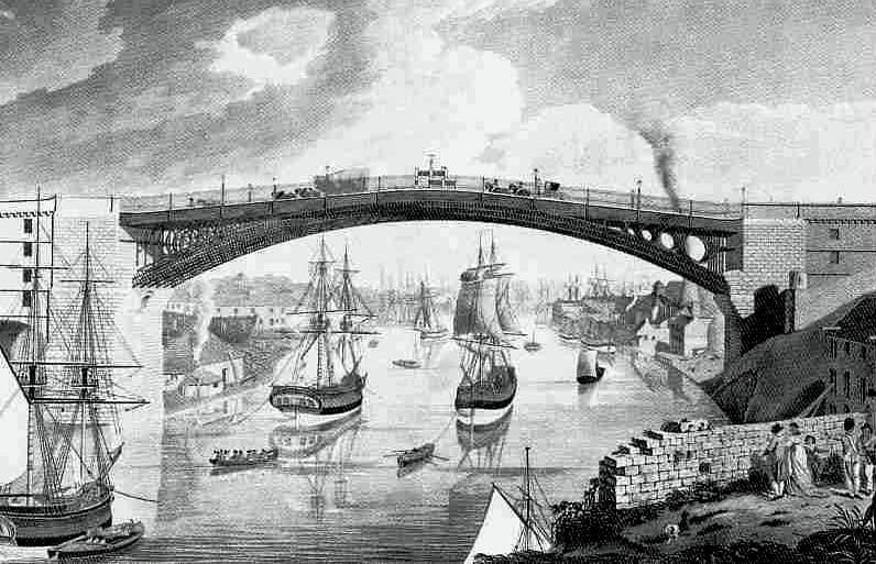Wearmouth Bridge 1776 - cast_iron_bridge_wear