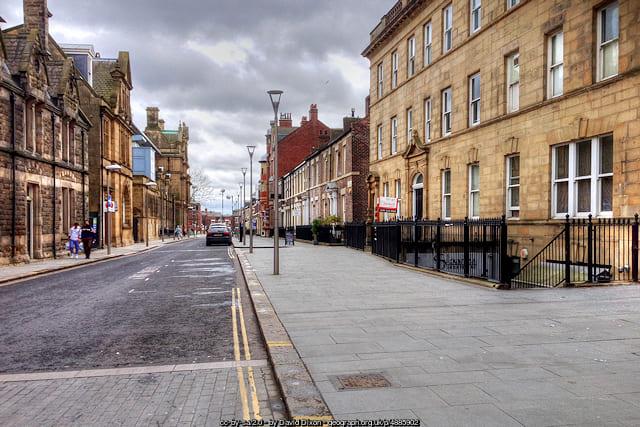 West Sunniside, Sunderland from High Street West