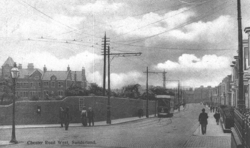 Sunderland Workhouse - view from Chester Road - Wearside Online