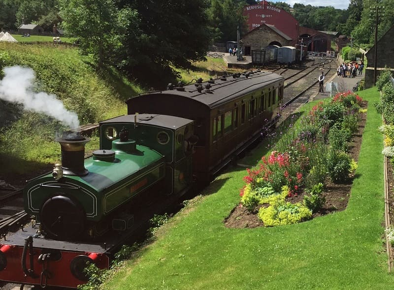 Beamish Museum Railway Station - Wearside Online
