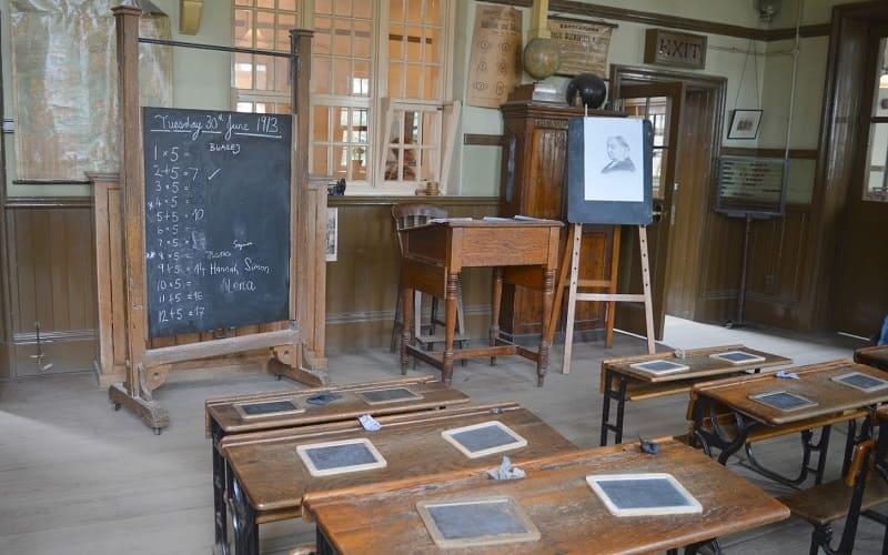 Beamish Museum - school classroom - Wearside Online
