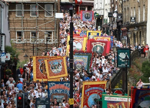 Durham Miners' gala - Chester-le-Street - Wearside Online