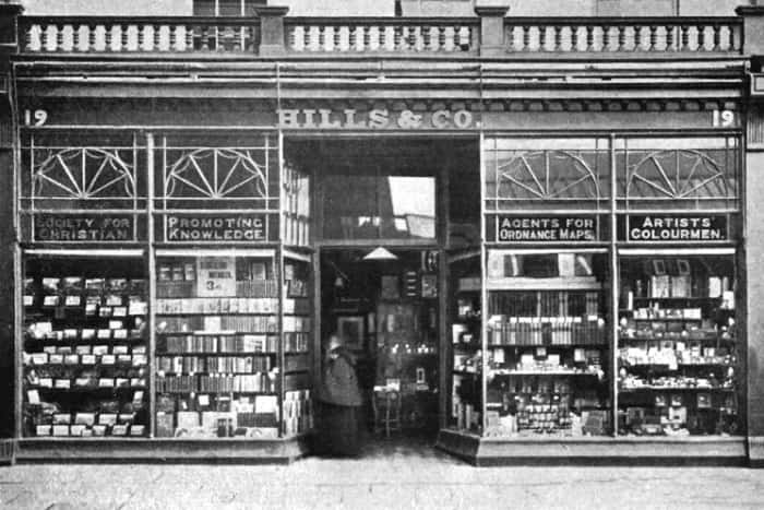 Hills Bookshop - booksellers Fawcett Street Sunderland