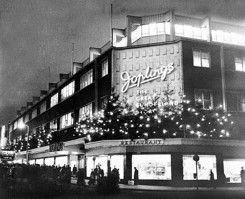 Joplings Department Store at Christmas