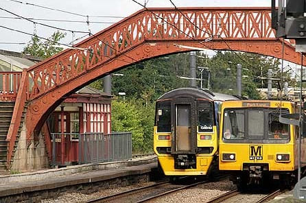 Sunderland Metro Line - shared with trains