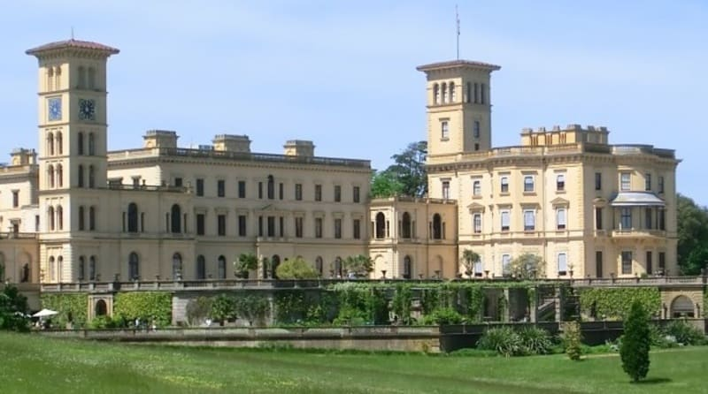 Sunderland Orphanage - similar design to Osborne House on the Isle of Wight