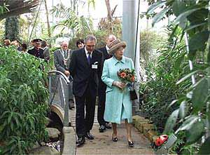Sunderland Museum and Winter Gardens - Queen opens new building 2002