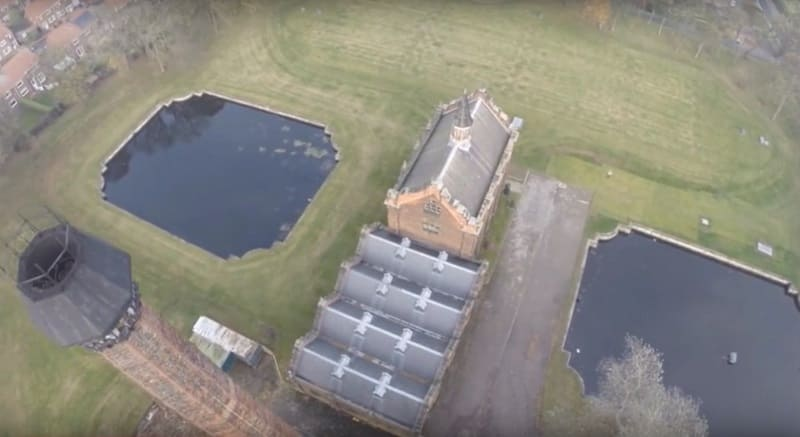 Ryhope Engines Museum and Pumping Station from the air - Sunderland and Wearside Online