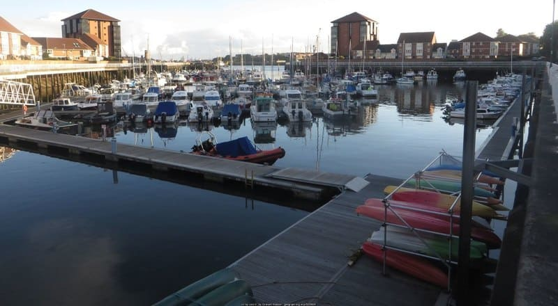 Sunderland Marina - North Dock - Marine Activities Centre - Boats