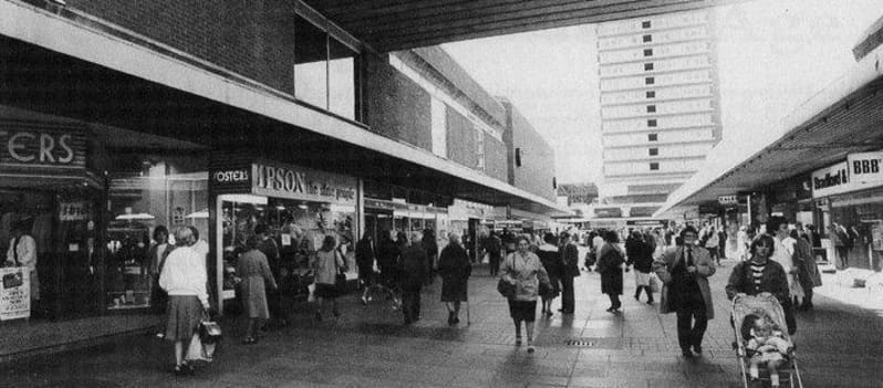 Bridges Shopping Centre - Market Square Sunderland The Windy City
