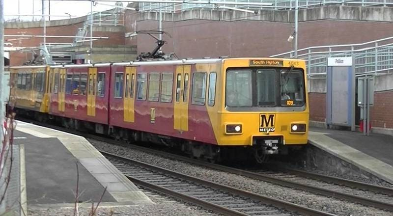 Sunderland Metro Light Railway System - Pallion