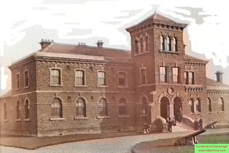Sunderland Orphanage - East End in colour - Wearside Online