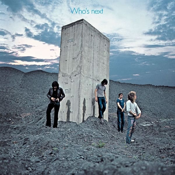 Easington link - The Who album cover - Who's Next - Wearside Online