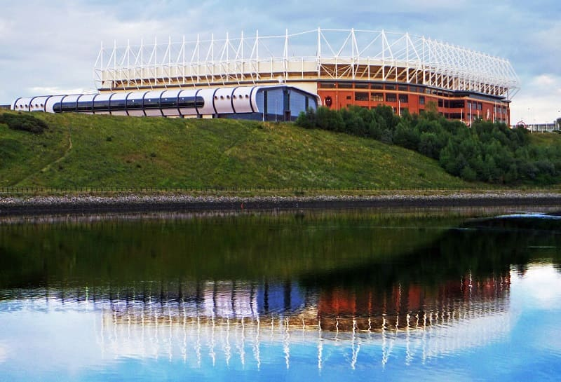 Sunderland AFC - Stadium of Light on the River Wear