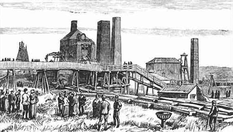 Seaham tragedies - colliery explosion 1880