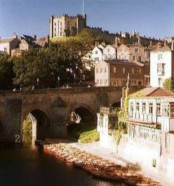 Durham Castle - on the River Wear